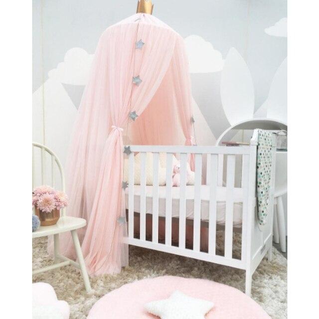 Kinder Spielhaus Zelte Prinzessin Baldachin Bett Vorhang Baby Krippe  Netting Runde Hing Dome Net Bett Zelt