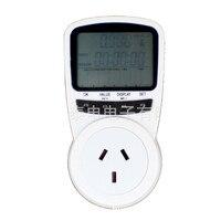 Digital Power Energy Voltage Watt Current Meter Monitor Checker Tester Analyzer Electric Energy Meter Socket AC230V AU Plug
