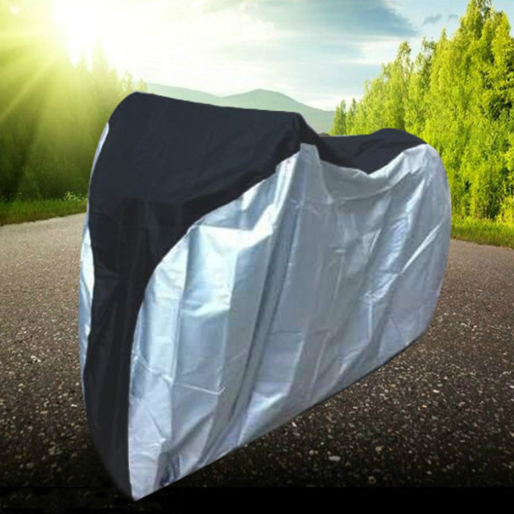 New Bike <font><b>Rain</b></font> <font><b>Dust</b></font> <font><b>Cover</b></font> Waterproof Outdoor Scooter Protector Gray For Bike <font><b>Bicycle</b></font> Utility Cycling Outdoor <font><b>Bicycle</b></font> Protector