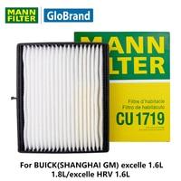 MannfilterカーキャビンフィルターCU1719用ビュイック(上海gm) excelleの1.6l/1.8l/excelleのhrv 1.6l自動部品