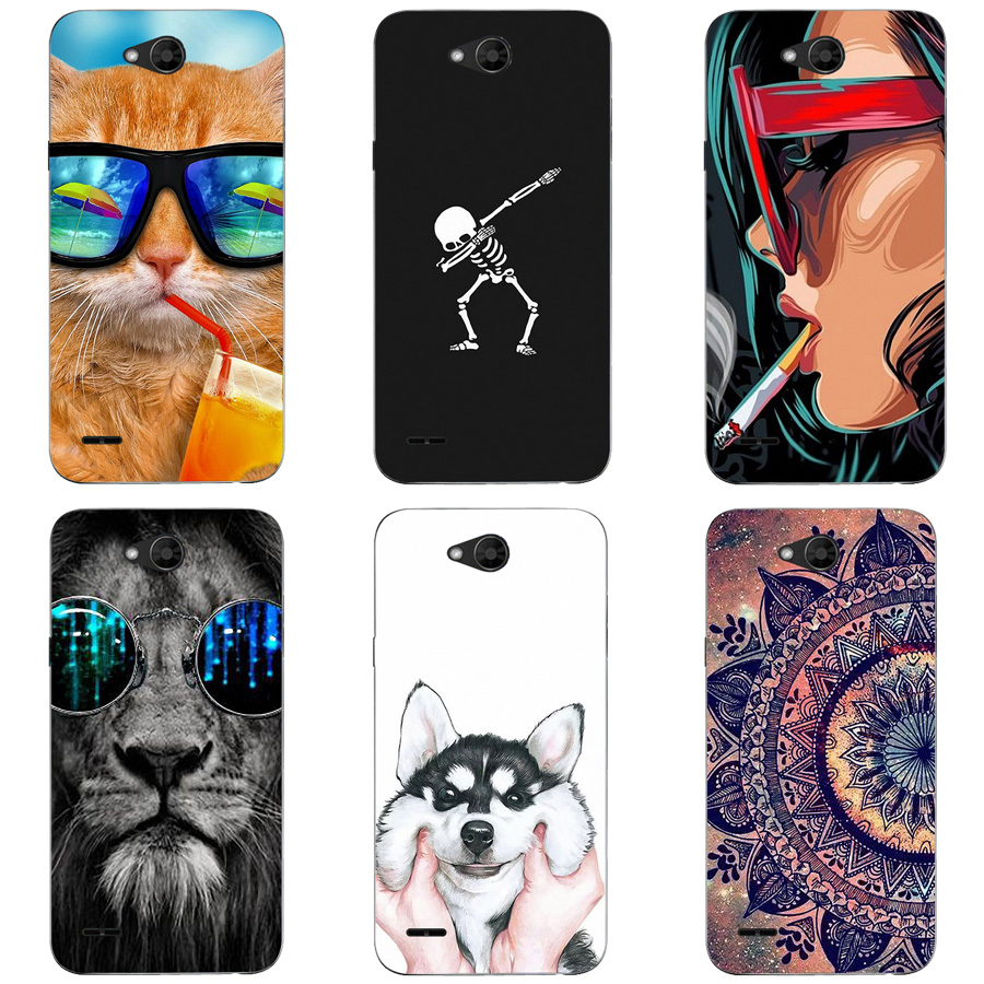 Phone Case For LG X Power 2 Patterned Cases Silicone Soft