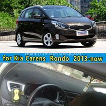 Dashmats car-styling accesorios del coche del tablero de instrumentos cubierta para Kia Carens Rondo 2013 2014 2015 2016