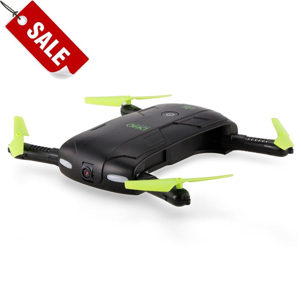 D5 Pocket Wifi FPV 480 p Della Macchina Fotografica Pieghevole Selfie Drone 6-Axis Gyro il Mantenimento di Quota Traiettoria di Volo RC Quadcopter DHD VS H37 E58 XS809HW