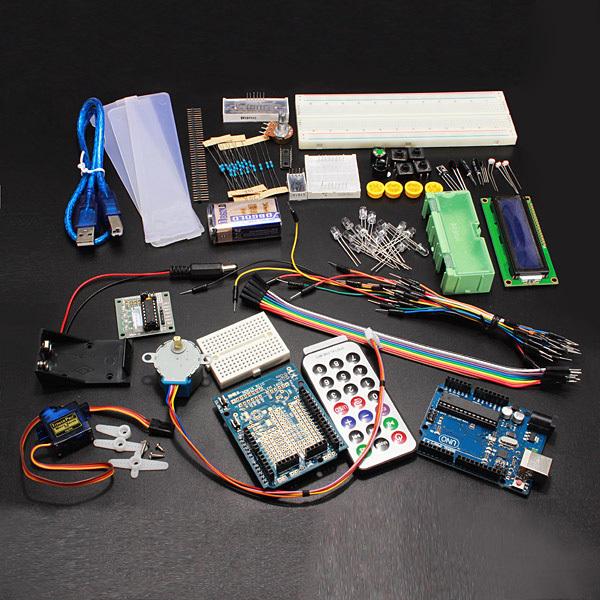 Compatível Com Arduino UNO R3 Starter Kit Set Para Motor de Passo 1602 LCD