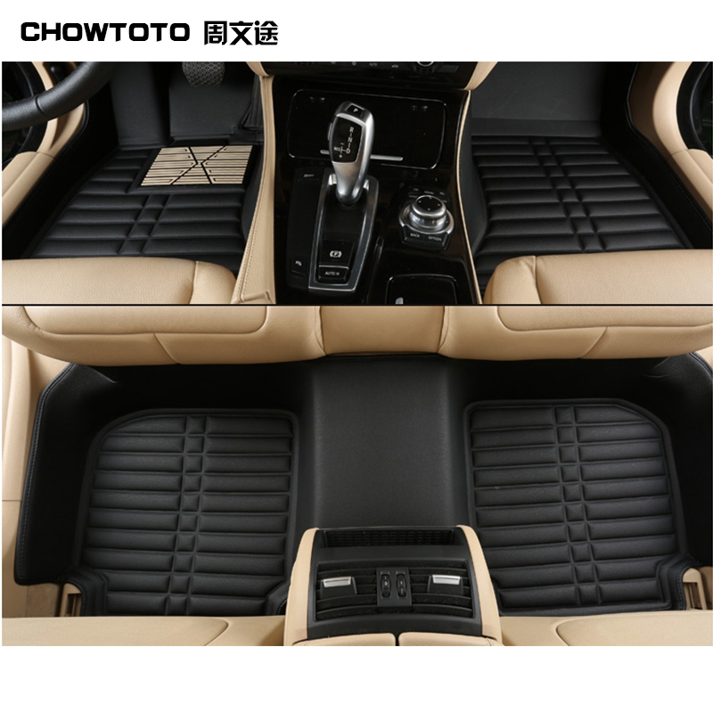 Chowtotoaa Car Floor Mats For Vw Tiguan Touareg Sagitar