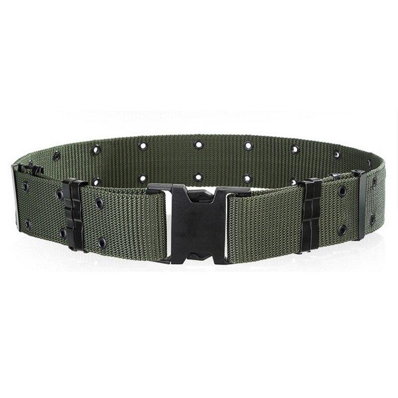 (cc. Amily) Hochwertigem Nylon Klettern Buckle Freien Bewegung Camouflage Armee-grün Gürtel Für Männer Männer Fs0418