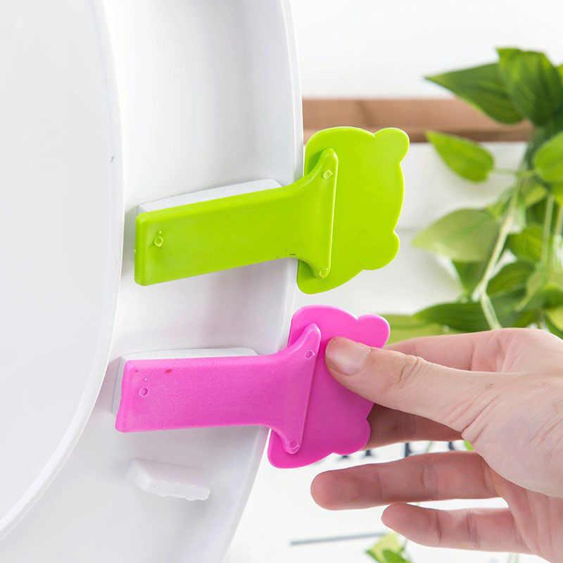 Akcesoria na klapę łazienkową klapa sedesu miska odwróć naklejka na uchwyt przenośny uchwyt sanitarny pokrywa toaletowa podnoszenie urządzenia dekoracyjnego
