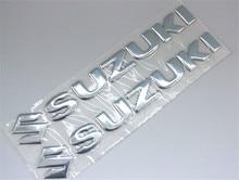 Мотоциклов эмблемы Наклейка 3d танк колеса логотип «s» Стикеры для Suzuki gsx-r 600 750 1000 Sv Gsf bandit Dl 1000 Vl Sfv