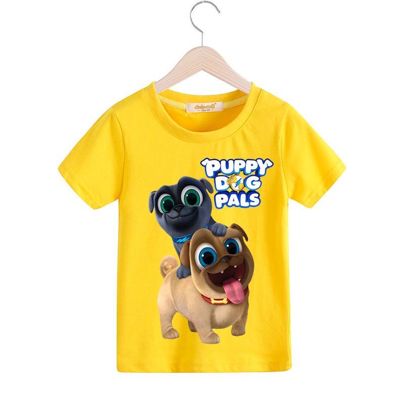 14372acd9 Children Summer Casual Cartoon Puppy Dog Pals T shirt Clothing For Kids  Short Tee Tops Costume Boy T Shirt Girls Tshirt ZCY046-in T-Shirts from  Mother ...