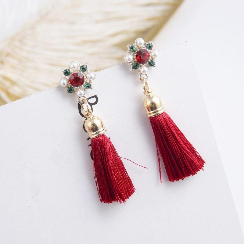2019 New Ethnic Bohemia Lafite Dangle Drop Earrings Water Resin Lafite Tassel Earrings For Women Jewelry Pendientes Oorbellen Selling Well All Over The World Jewelry & Accessories