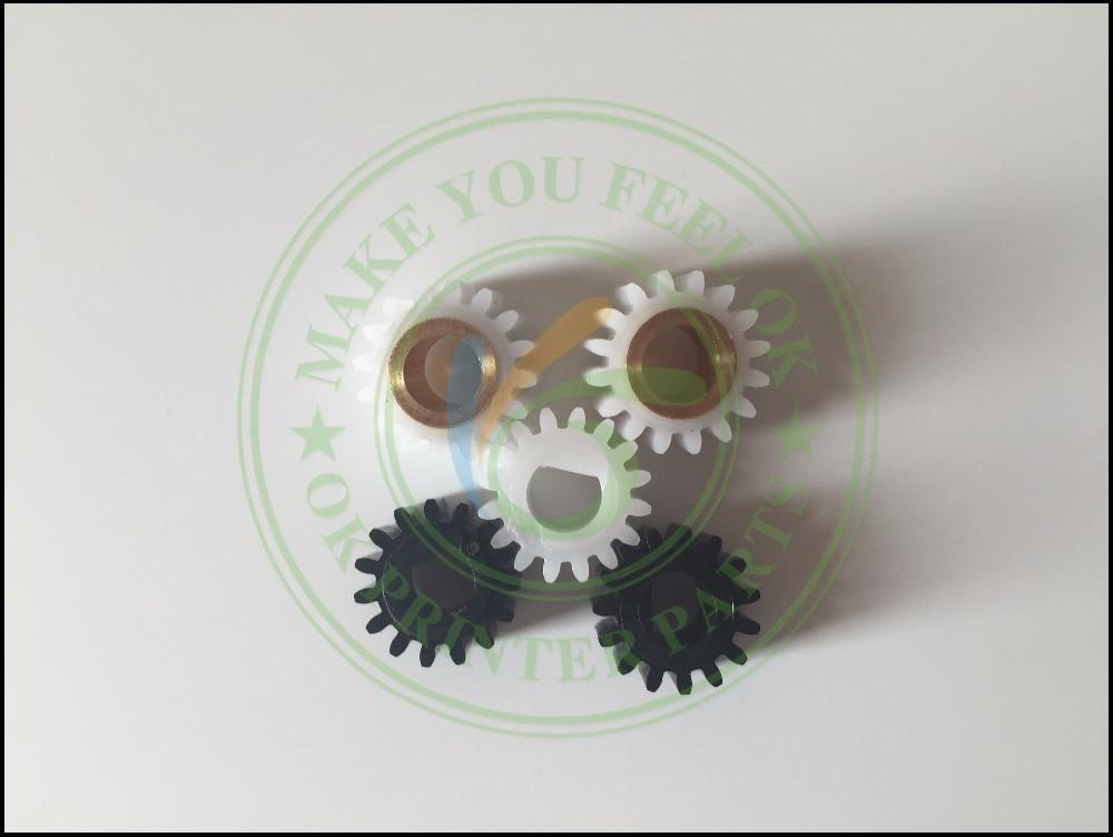 B039-3062 B039-3060 B039-3245 Developer Gear Kit Set for Ricoh Aficio 1015 1018 2015 2018 3025 3030 MP1600 MP2510 MP3010 1set developer gear kit set for ricoh aficio 1015 1018 2015 2018 3025 3030 mp1600 mp2510 mp3010 b039 3062 b039 3060 b039 3245