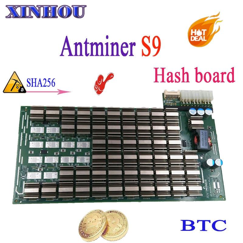 Expédier en 24 heures BTC BCH ASIC mineur Bitmain ANTMINER S9 panneau de hachage remplacer la partie cassée de SHA256 mineur Antminer S9