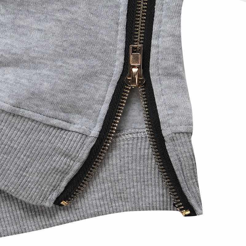 2019 осень зима Zanzea женские толстовки с капюшоном с длинным рукавом Свободные повседневные теплые свитшоты больших размеров d свитшоты больших размеров