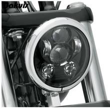 """Bakuis 5.75 """"5-3/4"""" Moto Proiettore 45 w HA CONDOTTO LA Lampada Del Faro Per Harley Sportster 883 1200, ferro 883, Dyna, Stradale Bob FXDB"""