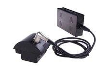 Nicefoto PW-07 adaptador AC para estúdio flash de luz flash Portátil sem fio nflash