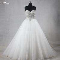 RSW1120 Prawdziwe Zdjęcia Suknie Ślubne Kryształowe Diamenty