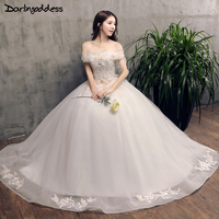 Amazing Real Photos 3D Flowers Wedding Dresses Lace Appliques Ball Gown Alibaba China Princess Bridal Dress