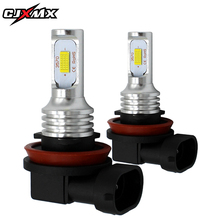 CJXMX H8 H9 H11 LED Fog Light Bulbs 1600LM 3000K Gold Yellow 6500K White Extremely Bright Car Lights 12V Fog Lamps Driving Bulbs цена в Москве и Питере