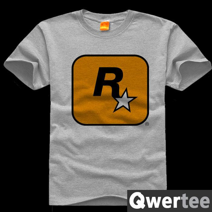 free shipping original design rockstar logo games grand theft auto