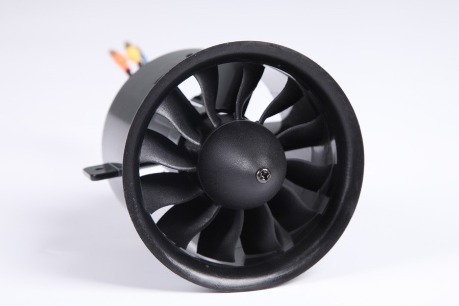 FMS 70mm Ducted Fan EDF Unit 6S V2 12 blade With 2860 KV1850 Inrunner Motor (optional) For RC Airplane Model Plane Jet Parts