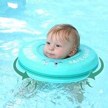 Flotador de anillo de cuello flotante para natación de bebé, no inflable, sólido, para accesorios, juguetes de piscina para bebé, entrenador de nado