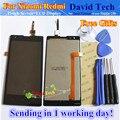 "Pantalla lcd + asamblea de pantalla táctil digitalizador de alta calidad para xiaomi redmi 1 hongmi 1 s redmi1 red rice 4.7 ""teléfono móvil Regalos Gratis"