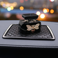 Car styling Bling Car Air Freshener Crystal Bee Car Perfumes Original Women parfum flavoring in the car