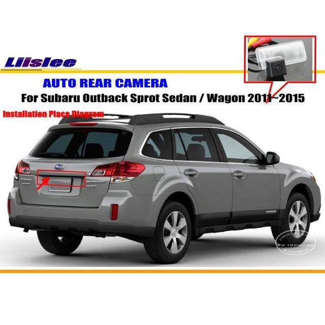 Liislee Car Camera For Subaru Outback Sport Sedan Wagon 20112015