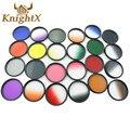 KnightX 52 mm 58 Grad graduated color yellow  lens  Filter for Nikon D3100 D3200 D5100 SLR Camera 52 MM 58MM D7000 D5 P600 A100