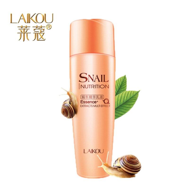 ФОТО Brand Snail Essence Lotion 130ml Moisture replenishment Skin care moisturizing refreshing Natural ingredients Repair damage skin
