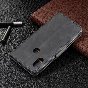 Image 3 - בציר עור מפוצל מקרה עבור Xiaomi Redmi 7 הערה 7 6 פרו 5 בתוספת 6a A2 lite ארנק Flip Kickstand כרטיס חריצי מגנט סגירת כיסוי