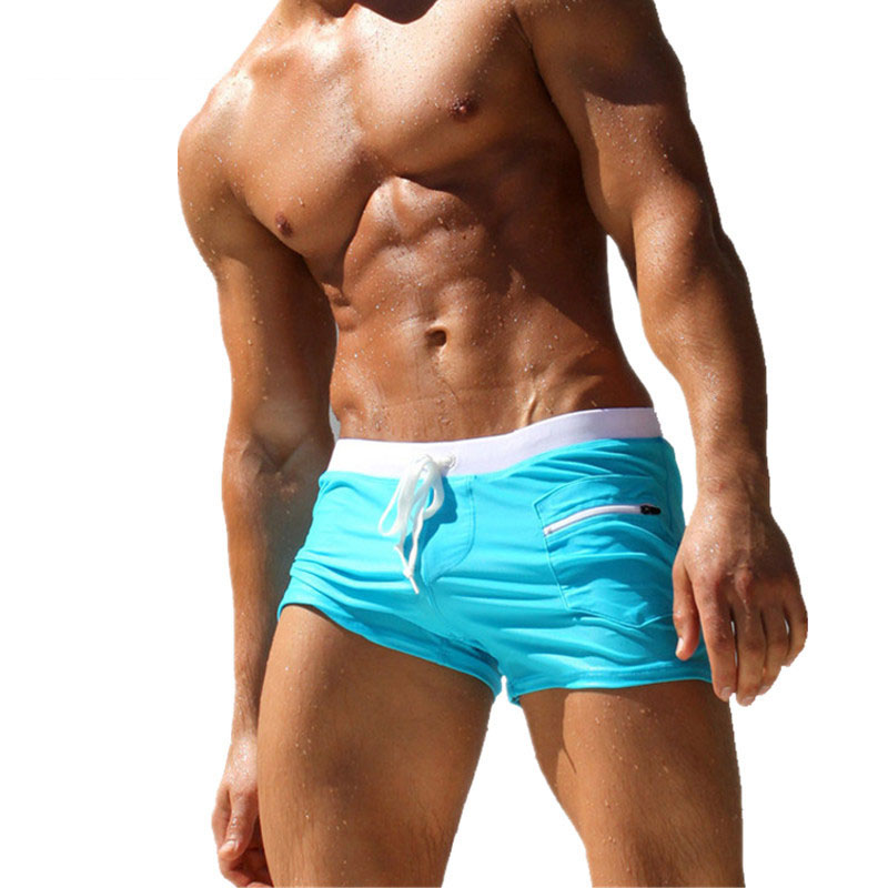 Men Swimming Boxers Trunks   Shorts   Summer Men's Swimwear Swimming Trunks Beach Surf   Board     Shorts   Swimsuits Man Beach Swim Suits