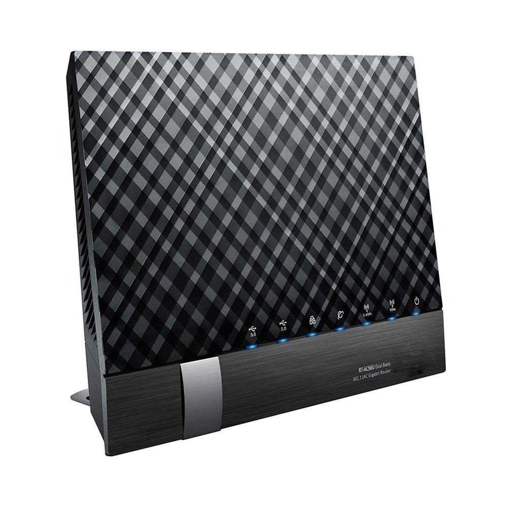 Prix pour RT-AC56U/R/S 802.11AC Dual-Bande Wireless-AC1200 1200 Mbps WiFi Gigabit Routeur avec 2 x USB 128 MB Flash/256 MB RAM