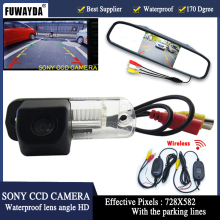 FUWAYDA 4.3″ LCD Parking Monitor+Car Rearview Camera for Benz C-Class W203 E-Class W211 CLS-Class 300 W219 R350 R500 ML350