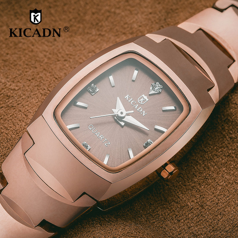 Fashion Ladies Luxury Watches Women Quartz Watch Wristwatch KICADN Top Brand Female Steel Clock Montre Femme relogio feminino 2016 good top brand relogio feminino date day clock female stainless steel watch women relogio feminino montre femme jn7