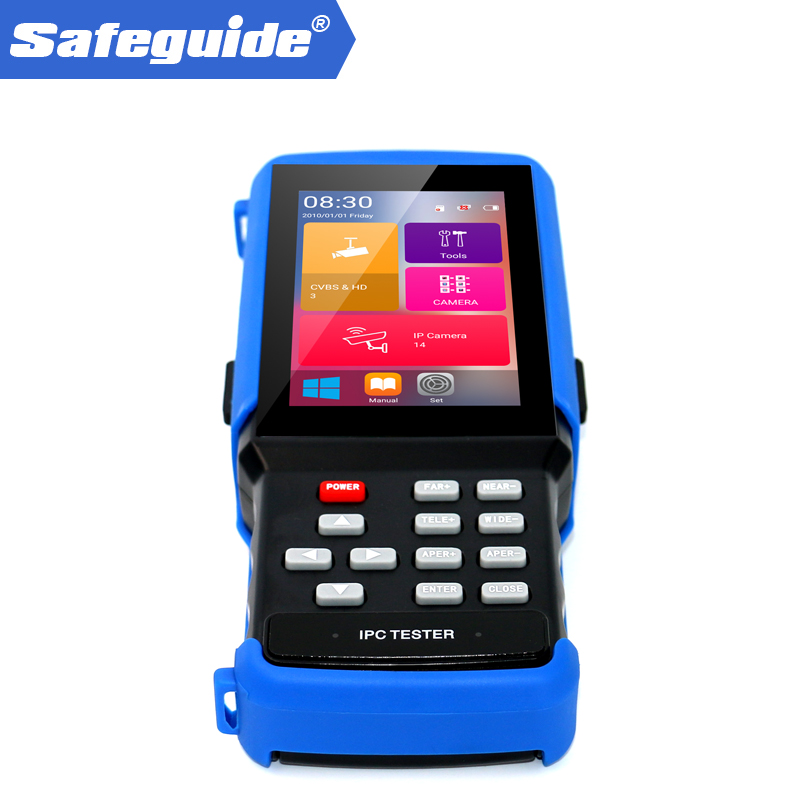 ip cctv camera tester with poe test and link monitor testing CCTV TESTER K730S-in CCTV Monitor & Display from Security & Protection