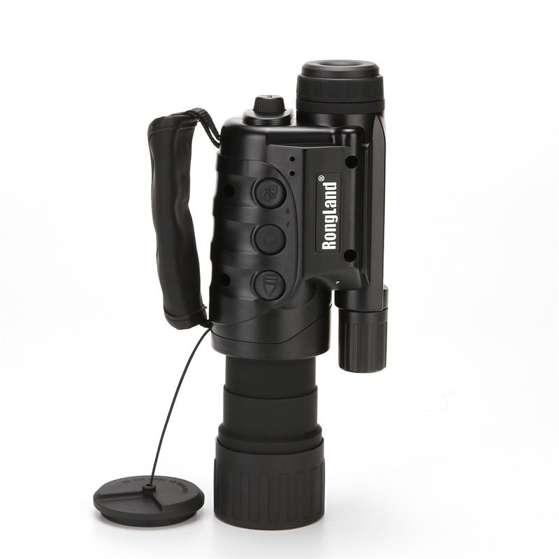 Цифровой Монокуляр ночного видения ИК диких животных 6x50mm 5-мегапиксельная HD-камера для охоты ИК 850НМ ночного видения телескоп