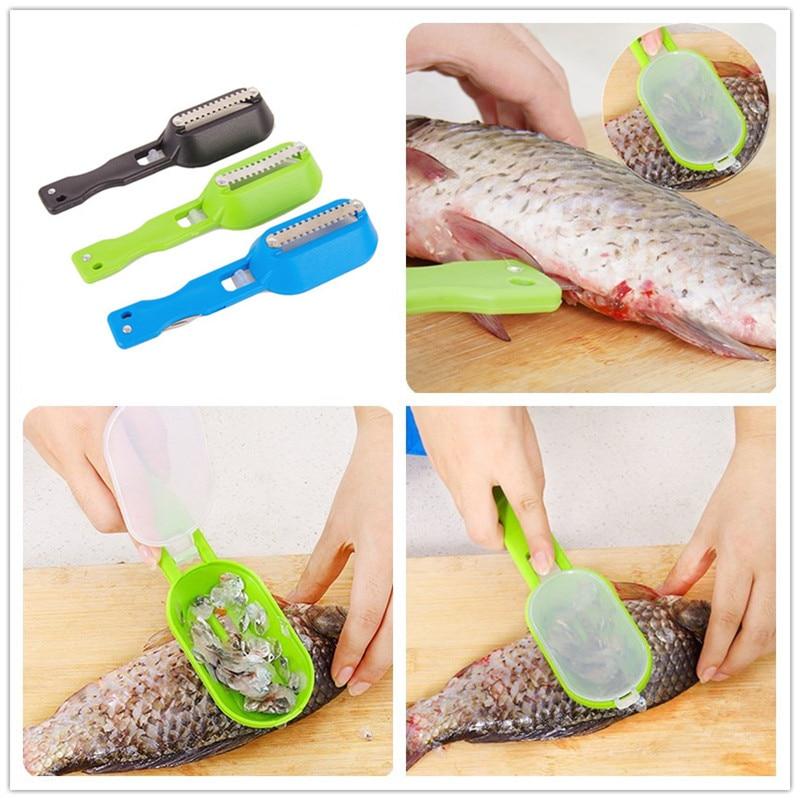 Kitchen Accessories Fish Scales Skinner for Kitchen Appliances Kitchen Goods Vegetable Cutter Kitchen Tools Gadgets Cozinha.Q