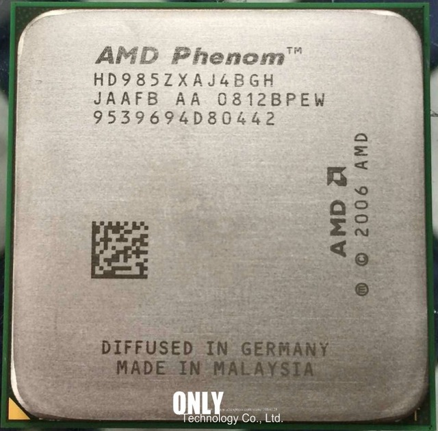 amd phenom 9850 quad core processor
