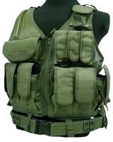 Quân Đội Bán nóng Chiến Đấu Ngụy Trang Vest Chiến Thuật trò chơi Chiến Tranh Cơ Thể Molle Armor Hunting Vest CS Thiết Bị Ngoài Trời Quần Áo Bảo H
