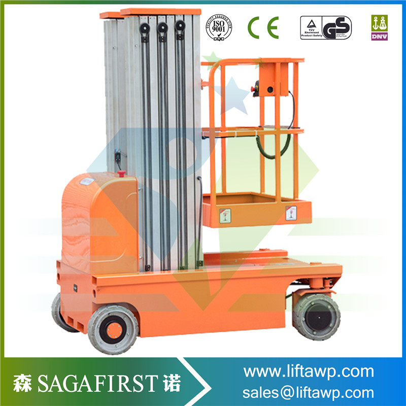 Good Quality Single Mast Aluminum Lift Table For Sales Factory Price