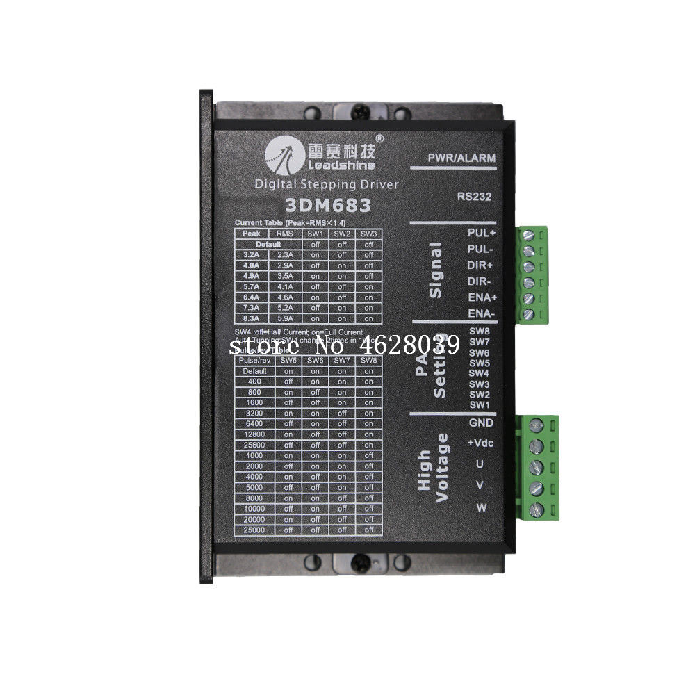 3dm683 Stepper Motor Driver Controller 3 Phase Analog Stepper Driver 8.3a 60v Dc Aromatic Flavor Measurement & Analysis Instruments Instrument Parts & Accessories
