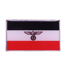Deutschland Flag Enamel Pin Bahasa Jerman Eagle Cross Bros Pria Lencana Mantel Kemeja Aksesoris Perhiasan Patriotik Hadiah(China)