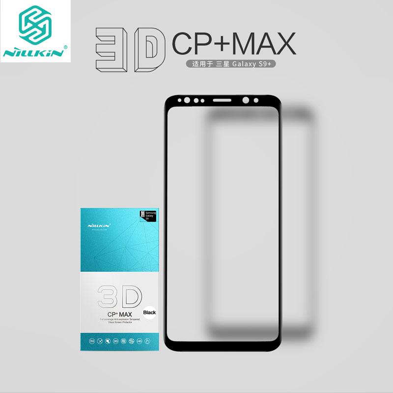 Nillkin Screen Protector for Samsung Galaxy S9 3D CP+Max sfor Samsung Galaxy S9 Tempered Glass for Samsung S9 Plus Glass
