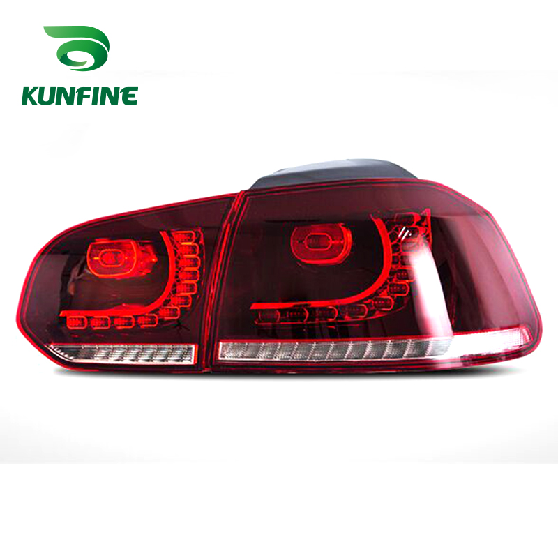2018 Pair Of Car Tail Light Assembly For VOLKSWAGEN GOLF 6 2008-2013 Brake Light With Flowing Water Flicker Turning Signal Light2018 Pair Of Car Tail Light Assembly For VOLKSWAGEN GOLF 6 2008-2013 Brake Light With Flowing Water Flicker Turning Signal Light