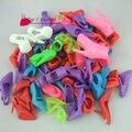 10 шт. / комплект смешанный модель смешанный цвет высокие каблуки сандалии обувь для barbie кукла