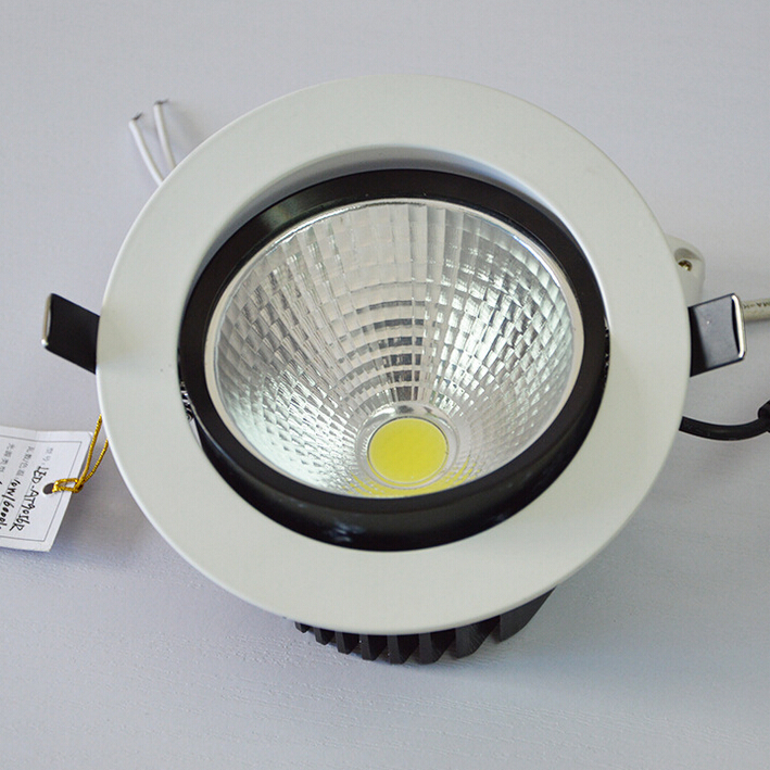 Free Shipping Super 25W LED downlight Led COB ceiling spot light warm/cool white ceiling recessed lamps AC85-265V CE ROHS new products listed recessed led downlight cob 30w 40w led spot light led ceiling lamp ac85v 245v free shipping