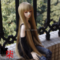 BJD Wig Linen Gold Long  Wig(36cm) for 1/3 doll wig BJD doll  Wig heat resistant hair