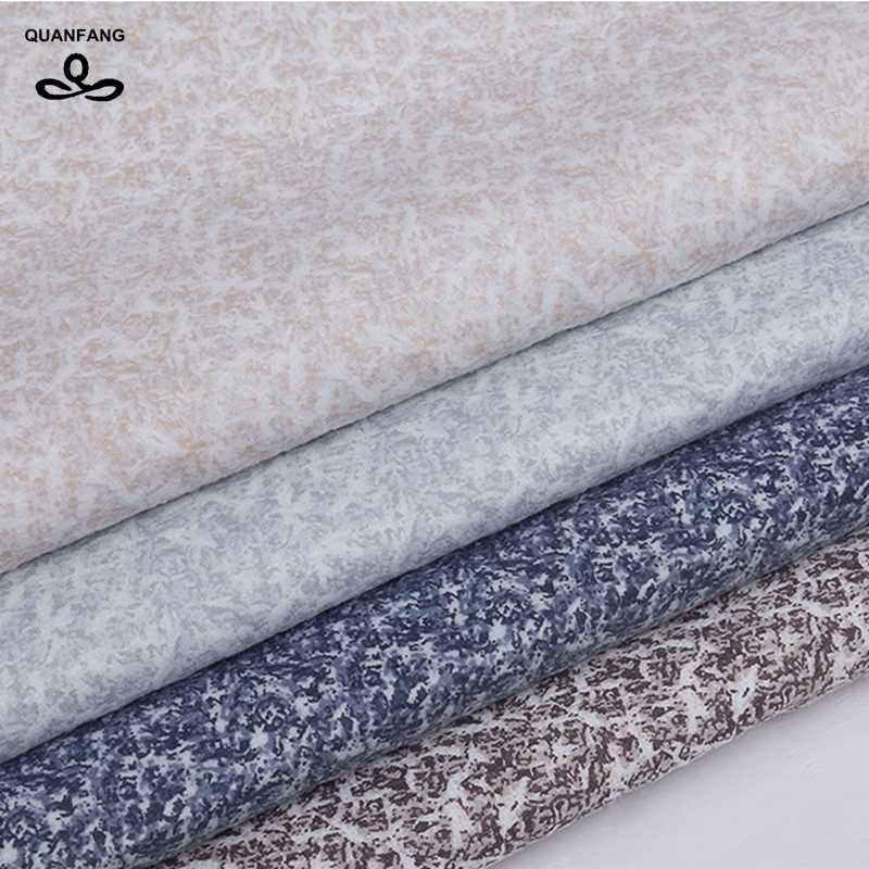 QUANFANG Solid colo Imitation linen Fabric For Quilting&DIY, Sewing,Sofa,Table,Cloth/Furniture Cover Decorative  Half Meter