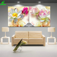 Paintings Lotus Poster Modular Picture Canvas Painting Modular Paintings For The Living Room And Bedroom HD